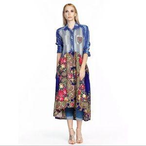ARATTA SILENT GOURNEY DRESS   L